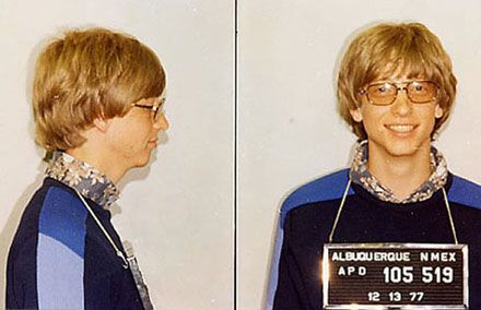 Bill Gates arrestado