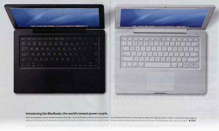La nueva publi de los MacBook