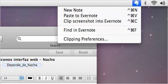 Evernote Clipper