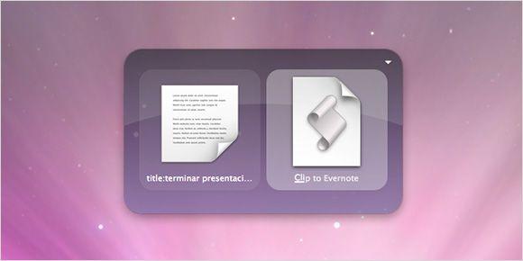 Evernote Quicksilver
